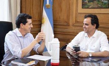 Cumbre de Wado De Pedro con Llamosas por la unidad en Río IV | Córdoba