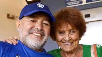 El emotivo regalo de Taty Almeida a Diego Maradona | Derechos humanos