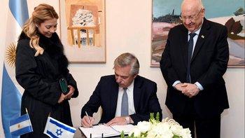 El compromiso de Alberto Fernández en Israel por la AMIA | Atentado a la amia