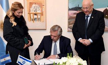 El compromiso de Alberto Fernández en Israel por la AMIA | Alberto fernández
