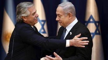 El agradecimiento de Netanyahu a Alberto  | Alberto en israel