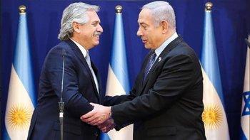 Alberto contó que no se habló de la causa Nisman en Israel   Visita oficial