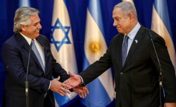 Exclusivo: la increíble charla entre Netanyahu y Alberto | Israel