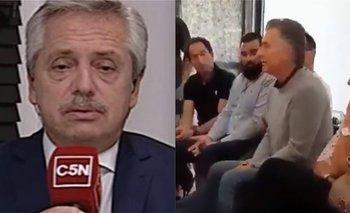 Alberto criticó a Macri por su video sobre la deuda   Deuda externa