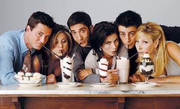 Nostalgia: Courtney Cox publicó una foto inédita de Friends | Friends