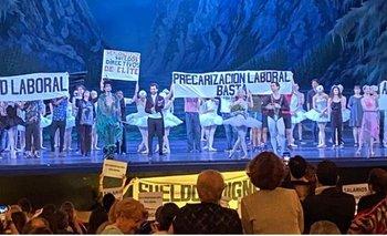 El reclamo de trabajadores del Colón ante directivos macristas | Teatro colón