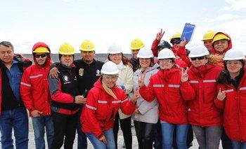 Antes de volver a la presidencia, CFK visitó represa Kirchner | Cristina kirchner