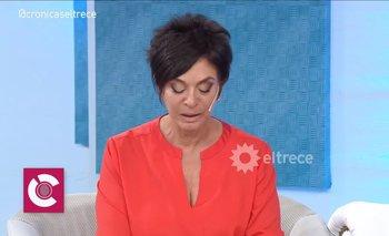 El incómodo momento de Mónica Gutiérrez al aire | Televisión