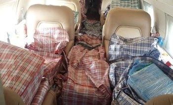 México: detienen jet privado de Argentina con cocaína | México