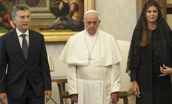 Comparación: Alberto vs Macri, en la visita al Papa   Visitas oficiales