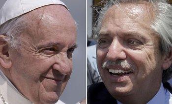 El guiño del Papa Francisco a Alberto Fernández en las redes | Iglesia