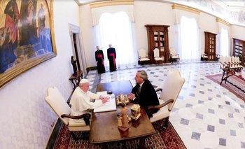 Alberto reveló una charla inédita con el Papa Francisco | Papa francisco