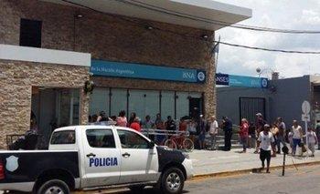 Asalto a un banco en Casanova: asesinan a cajero    Banco nación