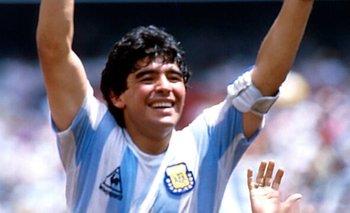 Se viralizó una foto inédita de Maradona consagrándose campeón del mundo | Diego armando maradona
