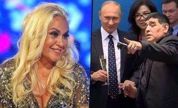 El regalo que Putin le hizo a Verónica Ojeda cuando salía con Maradona | Diego maradona