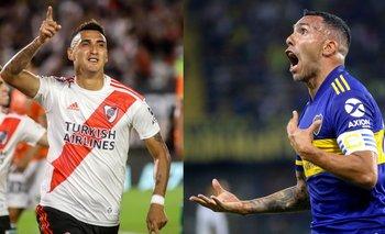 Formaciones y TV: Boca y River, por un lugar en la final de la Copa Maradona   Fútbol argentino