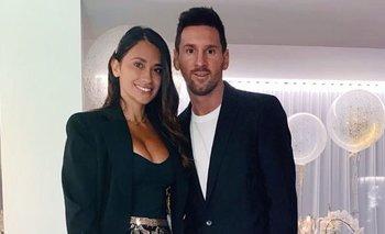 Messi y Antonela recibieron el 2021 con una foto apasionada | Lionel messi