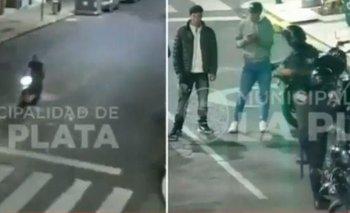 Video del choque de Píparo: el momento de la persecución | Carolina piparo
