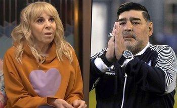Claudia explicó por qué nombra a Maradona como el papá de sus hijas | Masterchef celebrity