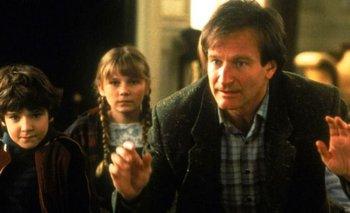 El notable gesto de Robin Williams con los niños de Jumanji | Cine