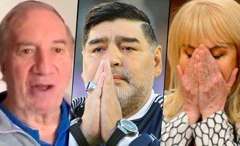 """Claudia Villafañe se reencontró con Carlos Bilardo: """"Lo fue a ver""""   Carlos bilardo"""