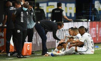 Boca-Santos: ¿hubo penal de Izquierdoz sobre Marinho? | Copa libertadores