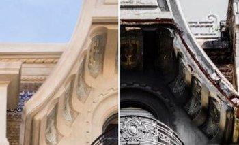 El antes y el después de la Confitería del Molino restaurada | Congreso