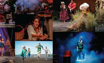 Teatro al aire libre: el Cervantes se muda a la Biblioteca Nacional   Teatro