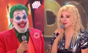 Miguel Ángel Rodríguez se vistió de El Joker e hizo llorar a Nacha   Televisión