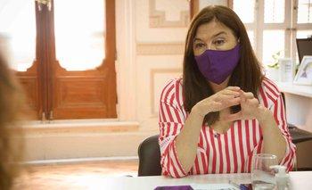 """Estela Díaz advirtió que en Rojas """"el área de género es muy débil""""   Úrsula bahillo"""