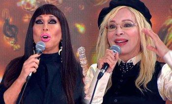 Moria Casán acusó de plagio a Nacha Guevara en el Cantando 2020   Cantando 2020