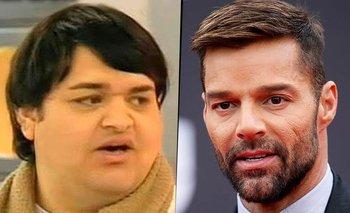 Ex Cuestión de peso se operó 28 veces para parecerse a Ricky Martin   Televisión