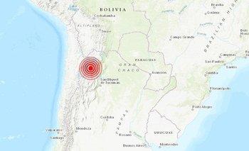 Un fuerte terremoto sacudió al norte argentino | Fenómenos naturales