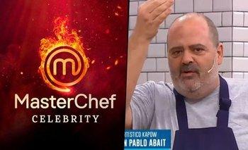 Guillermo Calabrese destrozó a los participantes de MasterChef   Masterchef celebrity