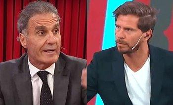 "Ruggeri destrozó al Pollo Vignolo: ""Lo siento por vos, nene"" | Oscar ruggeri"