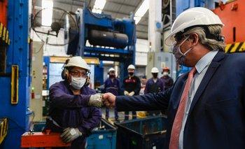 Alberto Fernández destacó la recuperación de las industrias | Reactivación económica