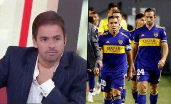 Momento incómodo de Closs: destruyó a un jugador de Boca y pasó un papelón | Televisión