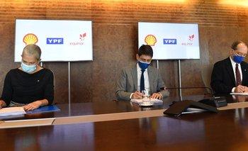 YPF cerró un ambicioso acuerdo con Equinor y Shell   Energía