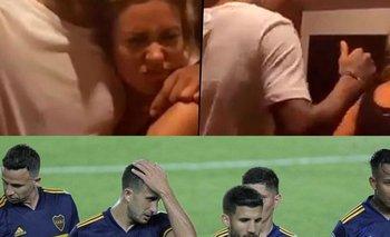 Sebastián Villa fue escrachado de fiesta tras la eliminación de Boca | Boca juniors