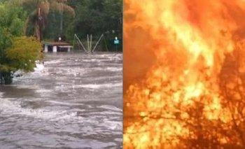 Qué tienen que ver los incendios con las inundaciones que sufrió Córdoba  | Inundaciones