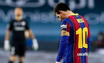 Supercopa de España: expulsaron a Messi por una piña y Barcelona cayó | Fútbol