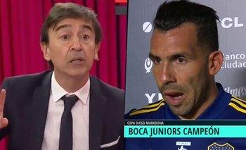 Tevez: la desubicada pregunta de Benedetto que generó repudio    Boca juniors
