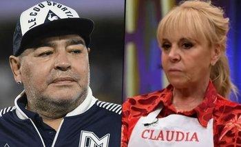 Claudia Villafañe estalló contra la serie de Diego Maradona   Farándula