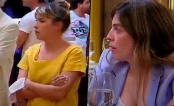 Feroz cruce de Dalma con Sofía Pachano en la final de MasterChef | Masterchef celebrity