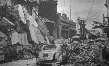 Los otros dos históricos terremotos que azotaron a San Juan | Archivo