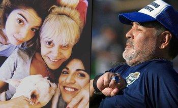 MasterChef: la emotiva foto de Claudia, Dalma y Gianinna recordando a Maradona | Masterchef celebrity