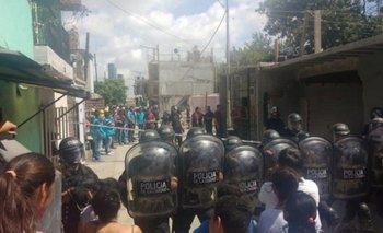 Desalojo en la Villa 31: reclaman libertad de una mujer detenida  | Violencia institucional