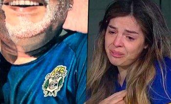 El estremecedor tatuaje de Diego Maradona que emocionó a Dalma | Instagram
