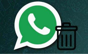 Cómo dar de baja y borrar tu cuenta de WhatsApp | Celulares