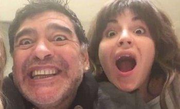 Gianinna Maradona cruzó a Luis Ventura con una frase maradoneana | Medios